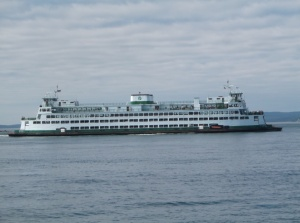 Just one of the ferries we rode this week