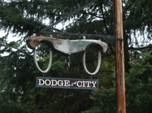 Dodge City on San Juan Island?