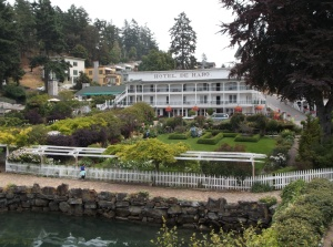 Historic Hotel de Haro in Roche Harbor