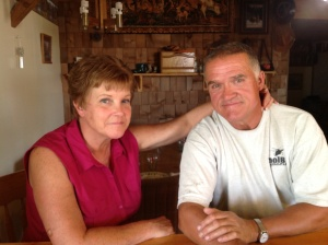 My oldest brother, Terry and his wife, Robin