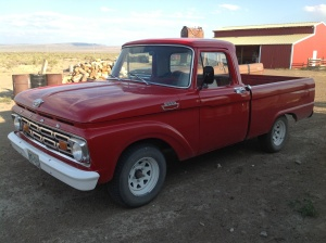 Mitch and Carrie's 1964 Ford Pickup