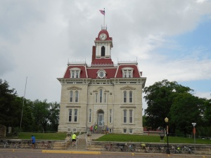 Historic Chase County Courthouse.  It is still in use.