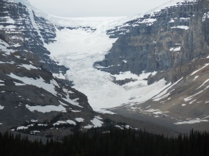 Closer look at the Columbia Icefield