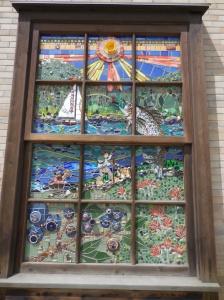 Artwork downtown Whitefish