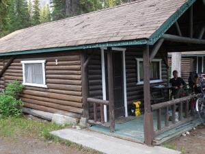 The girls' cabin