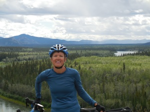 Yukon River behind me