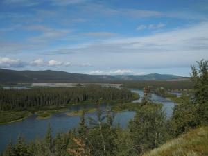 Last peek at Yukon River until Dawson