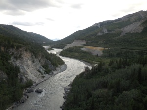 Nenana River just outside DNP